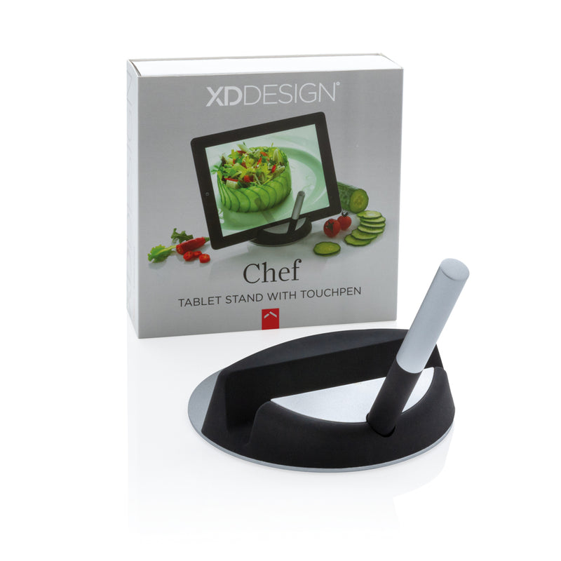 Piedistallo e touchpen per tablet Chef