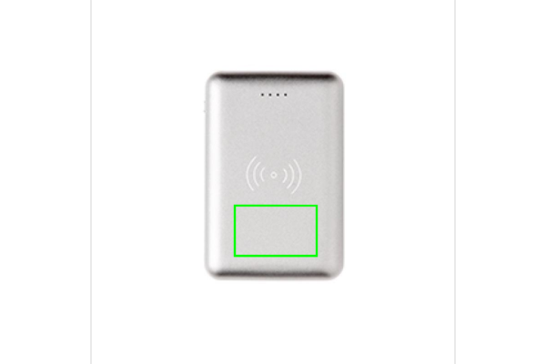 Powerbank tascabile wireless 5.000 mAh 5W *