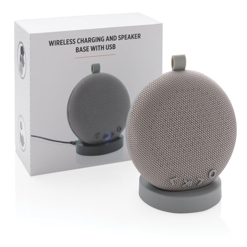 Speaker e base di ricarica wireless con USB