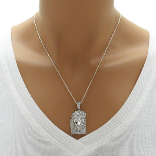 Exquisite sterling silver multi cz jesus christ head pendant exquisite 097 carat multi cz jesus christ head pendant wholesale 925 sterling silver pendant aloadofball Choice Image