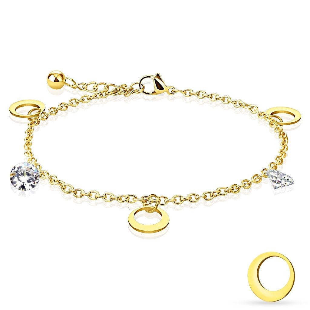 get you anklet bracelet the can inches adjustable fancy details pin inch ankle gold at heart additional