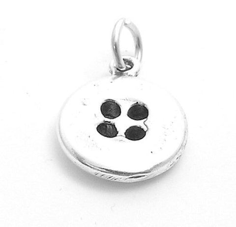 925 sterling silver charms everything else tommyway adorable button charm wholesale 925 sterling silver pendant jewelry main mozeypictures Image collections