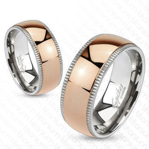 Couple Rings Matching Titanium Wedding Bands Tommyway Com