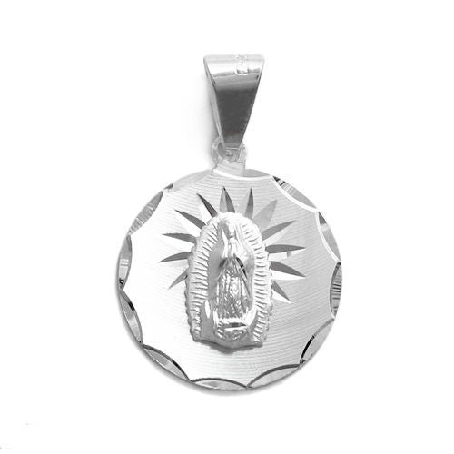 Beautiful sterling silver mother mary dia cut round pendant beautiful mother mary dia cut round pendant wholesale 925 sterling silver pendant jewelry mozeypictures Image collections