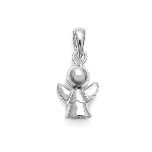 Adorable sterling silver simple angel charm pendant wholesale adorable and simple angel charm pendant wholesale 925 sterling silver pendant jewelry main aloadofball Gallery