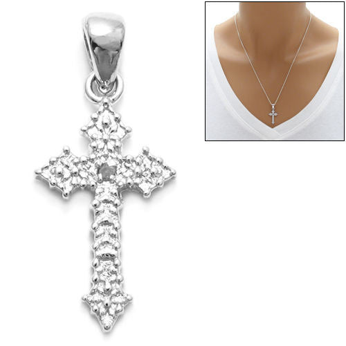 Beautiful sterling silver small cross pendant wholesale tommyway beautiful small cross pendant wholesale 925 sterling silver pendant jewelry main aloadofball Gallery