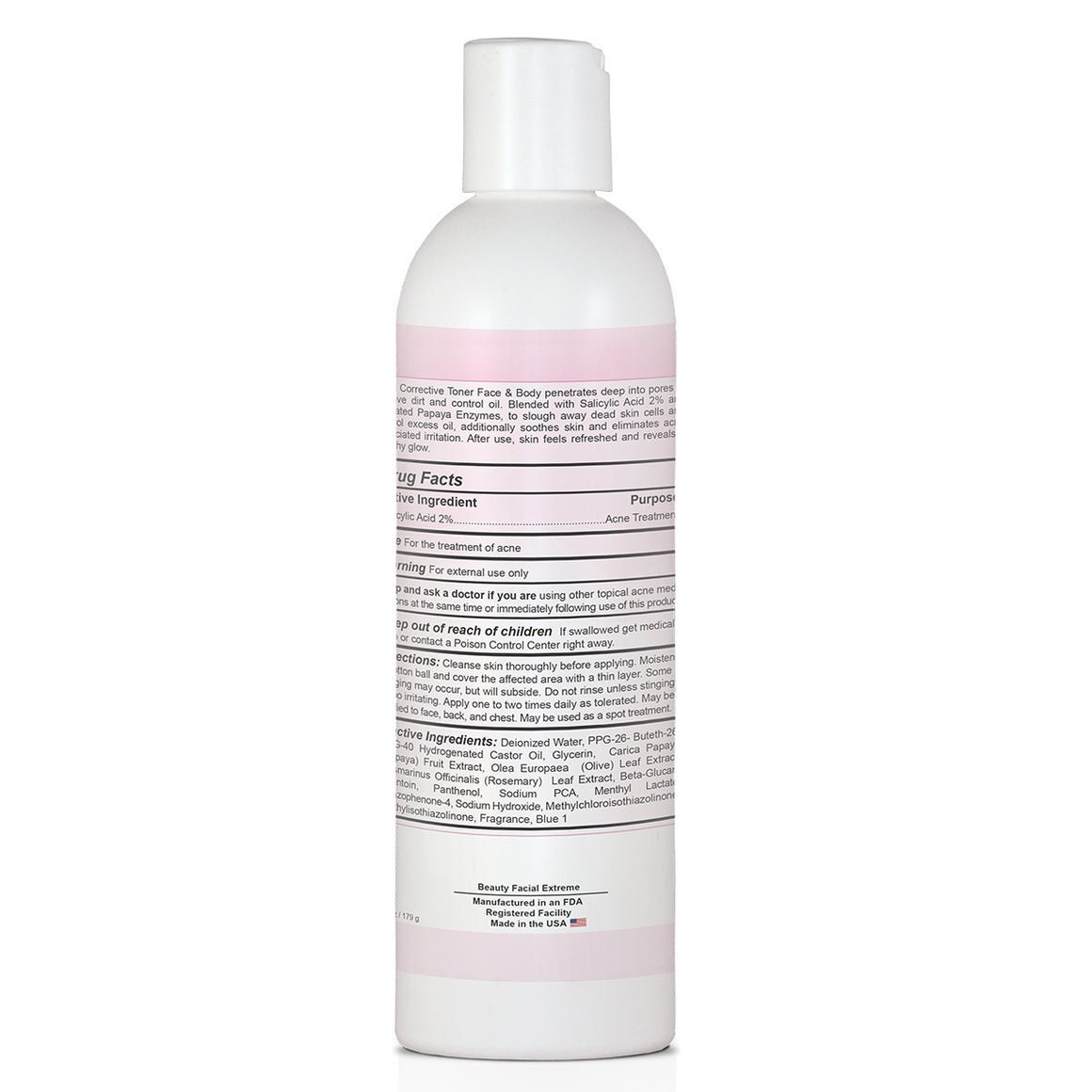 Acne Corrective Toner (Face and Body)