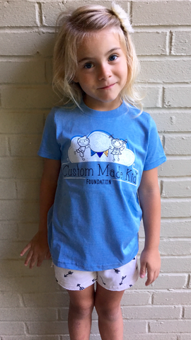 CMK Toddler Unisex T-shirt (Light Blue)
