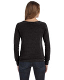 Women's Distressed Sweatshirt (Eco Black)