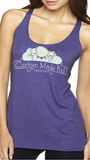 Women's CMK Racer Back Tank (Purple Rush)