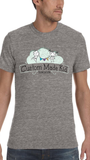 Unisex CMK Eco Grey Vintage-wash T-shirt