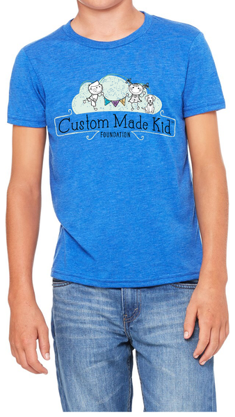 CMK Youth Unisex T-shirt (True Royal)