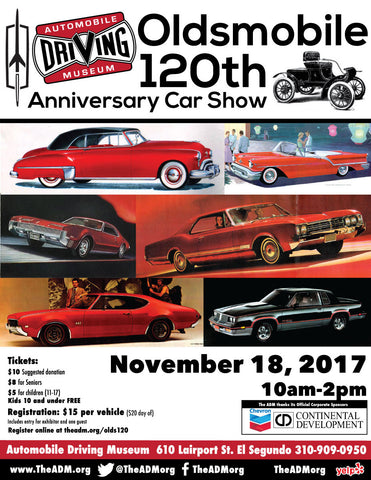 Oldsmobile 120th Anniversary Car Show