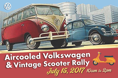 Aircooled Volkswagen & Vintage Scooter Rally