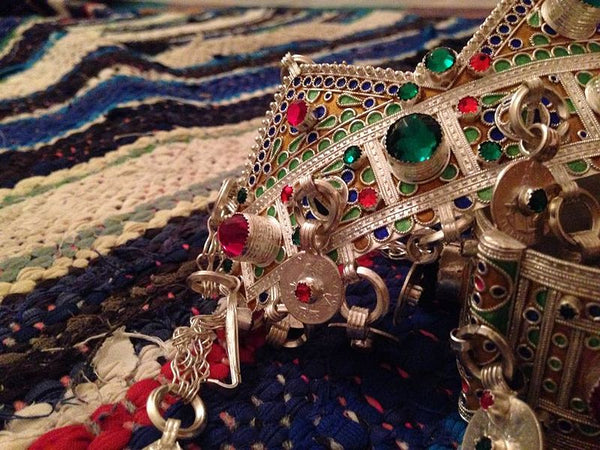 Ethnography of Morocco: Amazigh (Berber) Jewelry
