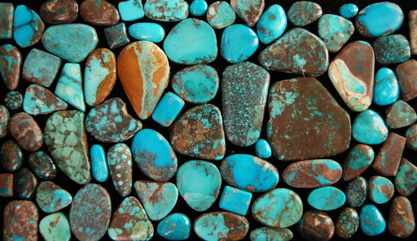 Turquoise Unearthed in Navajo Jewelry