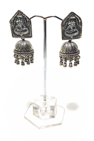 Ganesh Key Earrings