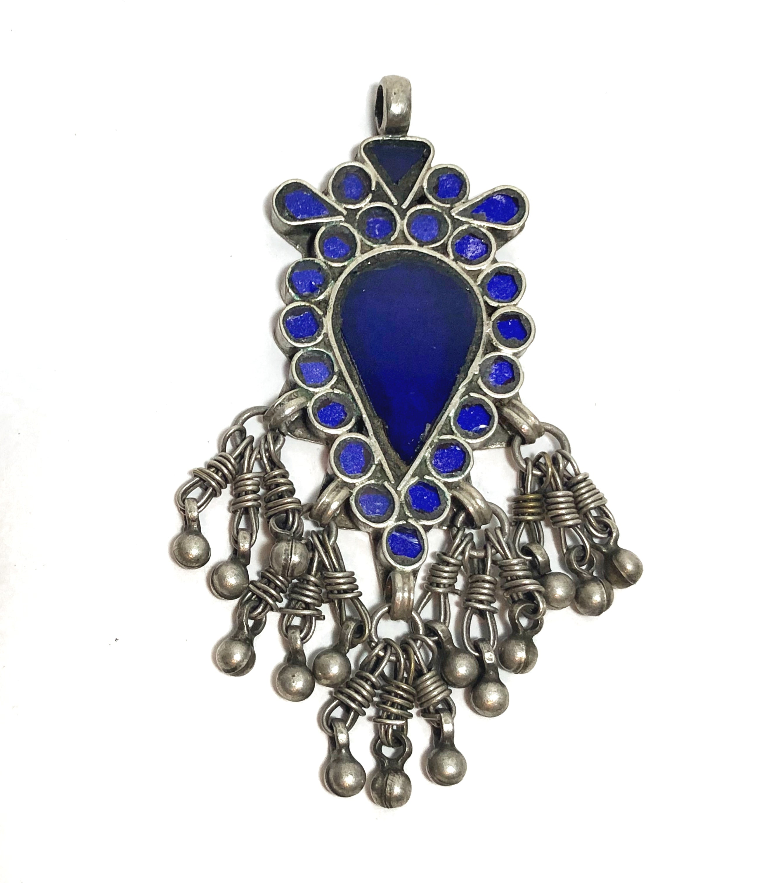 Legacy Mirror Glass Rajasthan Pendant