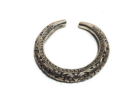 The Yudhvan Antique Silver Cuff