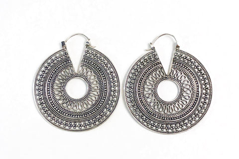 Mama Bali Sterling Earrings