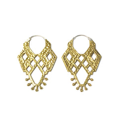 Kali Brass Earrings