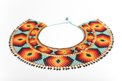 Chaquira Ray Collar Necklace