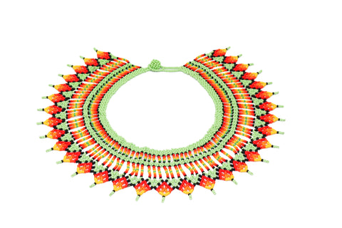 EARTH EMBERA CHAMI COLLAR NECKLACE