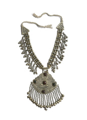 Traditional Kashmiri Silver Necklace