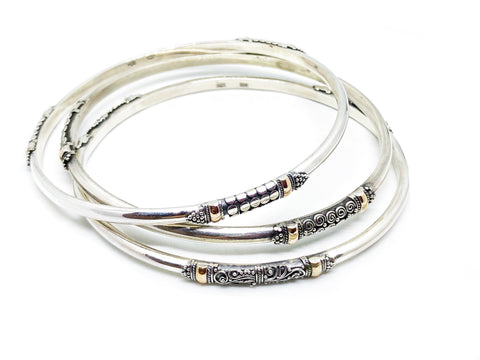 Three Bangles of Bliss - Set of Bangles