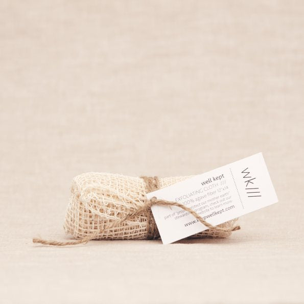 Keep Well Kept - Agave Exfoliating Cloth