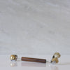 Multireflexology - Concave roller - Smooth brass sphere