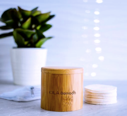 Ola Bamboo - Canister + Reusable Pads