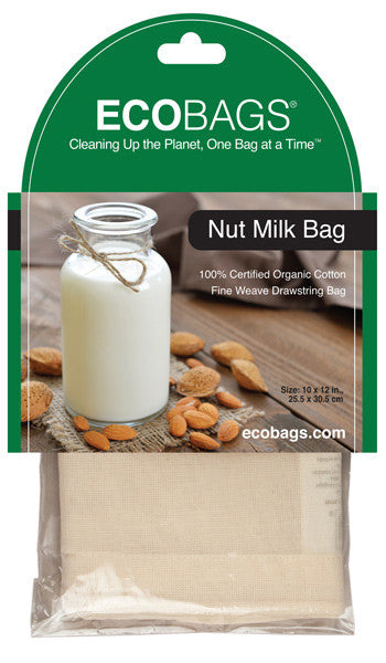 ECO BAGS - Organic Cotton Nut Mylk Bag