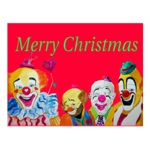 A Christmas Skit for a Clown Alley