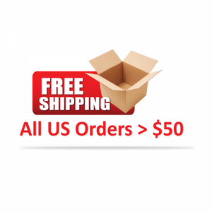 Free Shipping for orders $50 or more!