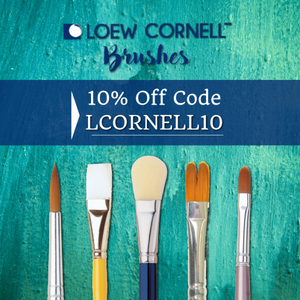 Loew Cornell Brushes have arrived!
