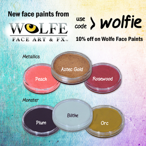 New Face Paints from Wolfe!