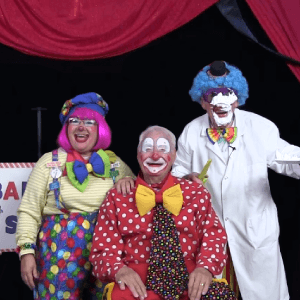 Barber Shop Clown Skit with Call Us Clowns
