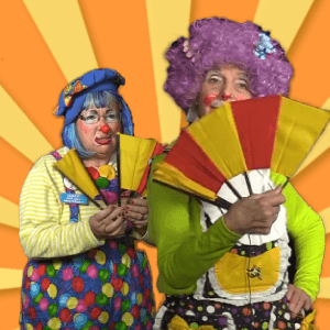 Break Away Fan Magic Trick with Binky and Leenie Beanie