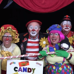 Candy Store Clown Skit with Call Us Clowns