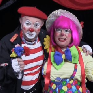 Don't Pick The Flowers Clown Skit with BoBo and Leenie Beanie