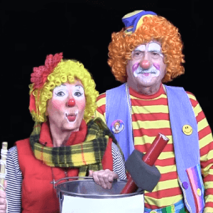 Fisherman Clown Skit with Foxy Roxy and Poppi T