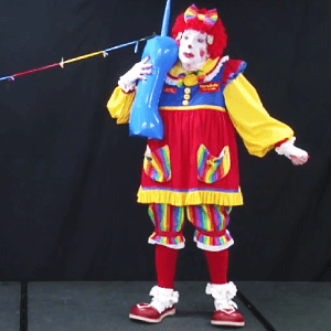 Video: Ring Ring with Florabelle and Cutie Pie of Clowns on Call