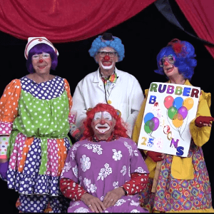 Video: Rubber Balloons Clown Skit With Call Us Clowns