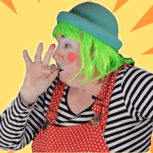 Silly Clown Finger Tricks by Dilly D'Allaly