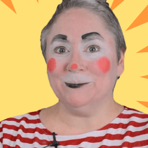 Simple Auguste Clown Makeup Tutorial by Dilly D'Allaly