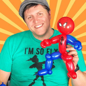 Video: One-Minute Spiderman Balloon by Balloon Josh