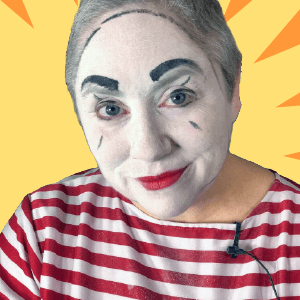 Mime Makeup Tutorial by Dilly D'Allaly