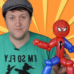 Video: 2-Minute Superhero Balloon Art by Balloon Josh