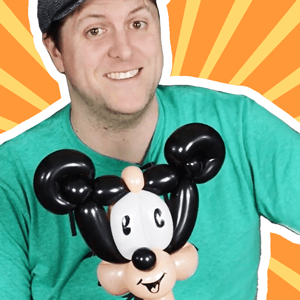 Two-Minute Mickey Mouse Balloon by Balloon Josh